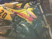 "2 2004 suzuki rm250 (2strokes) tons of ""upgrades"" less"