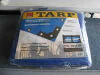 2 Pack tarps 16' x 12' Brand new still in the