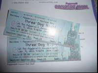 Pair of tickets to Sold out THREE DOG NIGHT show on