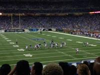 For Sale: 2 tickets to see the Detroit Lions as they