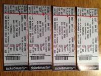 "2 tickets for both nights (11/1/14 and 11/2/14) to ""Day"