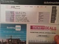 2 tickets for the Missing Link Tour (Mastodon, Clutch,