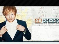 2 tickets for Ed Sheeran's 'X' 2015 Tour show at the