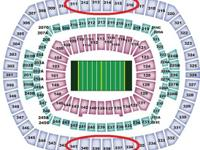 2 - Tickets Section: 339 - MetLife Stadium - $95.00