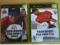 2 Tiger Woods Xbox Golf Games   Tiger Woods PGA Tour