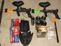 I am selling 2 Tippman 98 custom paintball markers.