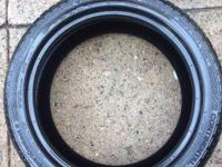 I have 2 tires low pro for sale they are 245/40/18 they
