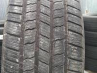2 certified used tires 275 55R20 Goodyear Eagle with