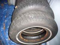 VERY MEATY TIRES !!! 215 75 15 INCH 2 OF THEM WINTER OR