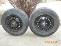 2 TIRES IN GOOD CONDITION 195-65R15 MASTERCRAFTS MC 440