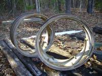 14 x 38 Power Adjust Tractor Rims. They were on a