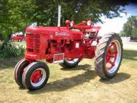 Farmall H, Restored, Runs and Operates great,. $1550