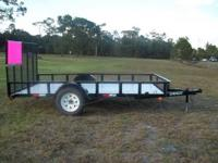 2- 6x12 all pro trailer. asking $795. for 1-- $895 for