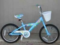"Pair of Trek Mystic 16"" Girl's BMX Style Bike Coaster"