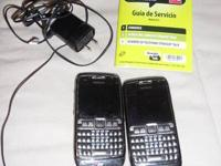 THIS AUCTION IS FOR 2 (TWO) STRAIGHT TALK NOKIA E5 CELL