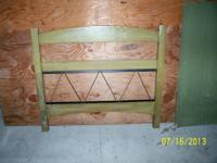 I'm selling 2 various wood headboards. Each is tough