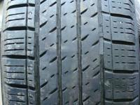 2 Used 215/70 R 16 Continental Contipro Contact TIRE.