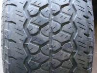 2 Used 245/65 R 17 BFGOODRICH Rugged Trail T/A TIRE.