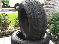 Up for sale 2 used Firestone Precision Sport tires