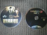 Hi these to DVDs dnt have case just the disk askn