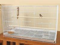 I have two used flight cages for sale. One is large and