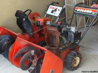 Toro electric start 5 hp, 26 inch and Bolens 10