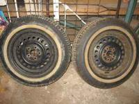 Set of 2 Runway Brand All Season Tires. Tire Size are