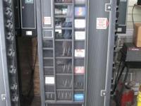 "2 vending machines ""ANTARES"" with accessories."
