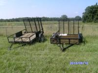 WE HAVE 2 UTILITY TRAILERS FOR SALE AT $500.00 FOR