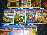I have 2 VTech Mobi Go Syistems and 9 games + 2 games