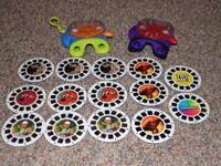 VIEW MASTER toy lot:. Take pleasure in seeing vibrant