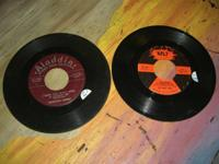 2 Vintage 45 records Both plays great, great condition