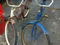 2 Vintage 60's murray Bicycles $40 a piece  Location: