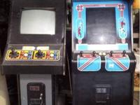 Vintage Mortal Kombat and Karate Champ Arcade Games