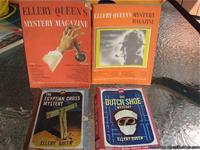 These are the original classic Ellery Queen books. The