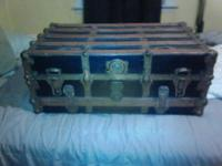 i have 2 antique trunks. one is a steamer trunk still