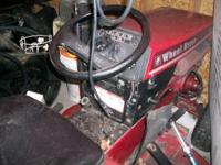 I have 2 Wheel Horse Tractors 1 is a C161 that runs but