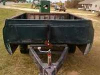 Built by professional welder. Great to haul topsoil and