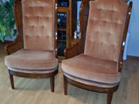These 2 chairs are in extremely great condition and are