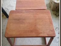 These are sturdy sold wood tables. CONSIGNMENT SHOP