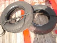 I have two 205/75/15 trailer tires I just removed from