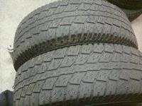 2 cooper tires good tread left call or text  ford