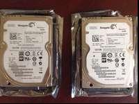 Selling two Seagate Momentus 7200 500 GB SATA 3Gb/s