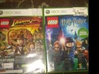 Hi, I have 2 Xbox 360 games, one is Lego Indiana Jones