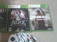 Alice madness returns and the walking dead video game