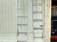 Werner ladder is in good condition, the other works but