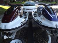 1- 1998 Yamaha GP 800 Limited Edition 2-person wave