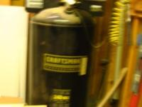 2 year old Craftsman Air compressor 2 stage, 80 gal.,