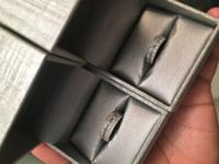 Bought these 2 rings back in December online at Zales..