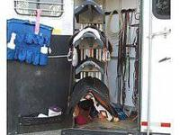 Attractive condition full living quarters, rear tack,